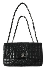 Quilted Flap Chain Shoulder
