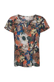 Top, Freya, Pumpkin Print