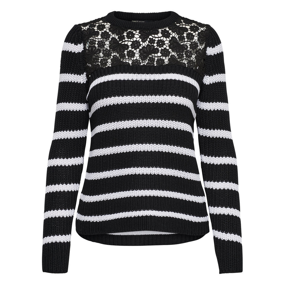 Knitted Pullover Lace