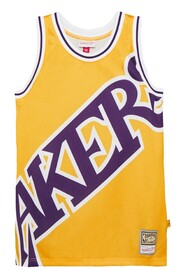 CAMISETA LAKERS BIG FACE BLOWN OUT FASHION