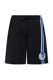 Logo-patched shorts