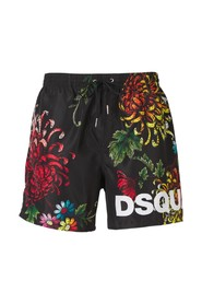 Flower Print Swimshorts