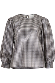 Hala Check Blouse