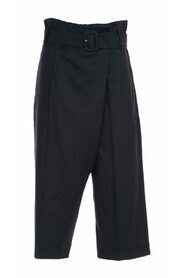 HIGH WAIST PANTS WITH BELT