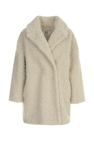 REVERS NECK DOUBLE BREASTED COAT