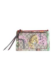 Canvas Lion Double Pouch