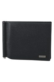 Leather Bifold Mens Card Holder Leather Wallet