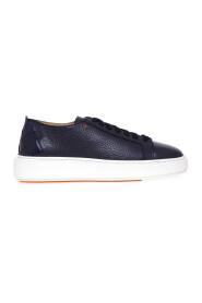 Sneakers con tallone intrecciato