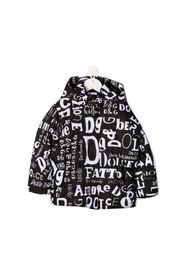 All Over Logo Puffer Jacket