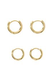 Z 3 X Hoop Earrings S A J Z