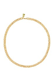 Jane Necklace in Gold Plated Brass