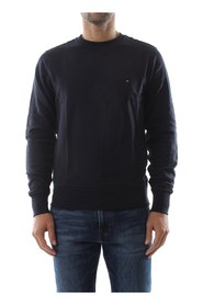 TOMMY HILFIGER MW0MW04973 BASIC C-NK SWEATER Men SKY CAPTAIN