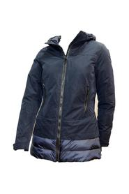WOMEN'S COLOR JACKET WITH HOOD and ZIP