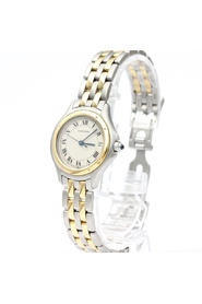 Stainless Steel and 18K Yellow Gold Panthere Cougar Quartz