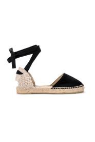 Hamptons suede espadrillas sandal.