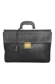 Pre-owned Briefcase Leather Calf