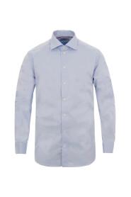 Eton Contemporary L.Blå Skjorte
