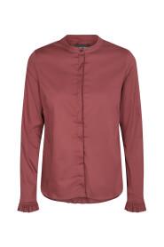 Burgunder Mos Mosh Mattie Shirt Bluse