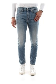 CALVIN KLEIN JEANS J30J307723 - 016 SKINNY JEANS Men DENIM LIGHT BLUE