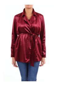 Blazer Women Burgundy