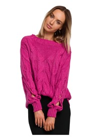 Sweter Z Dziurami Na Rękawach