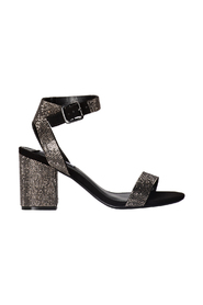 MALIA SANDAL WITH HEEL MEDIUM HEIGHT AND STRASS