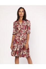 Sukienka z delikatną stójką SUK155