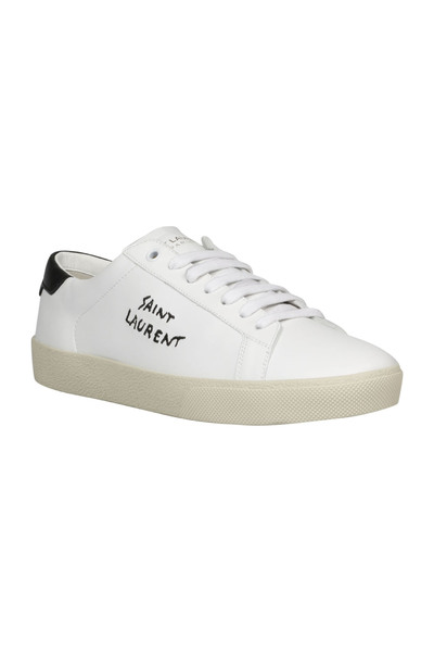 White Court Sneakers | Saint Laurent Obuwie Sportowe
