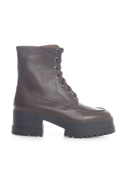 ANKLE BOOTS W/HIGH SOLE AND SIDE ZIP