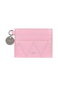 GV3 QUILTED LEATHER CARD HOLDER