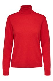 Knitted Pullover Rollneck