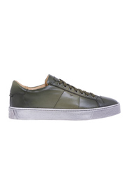 Sneaker in buffered supersoft leather