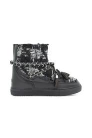 Sneaker Eng Tartan Wedge Sko