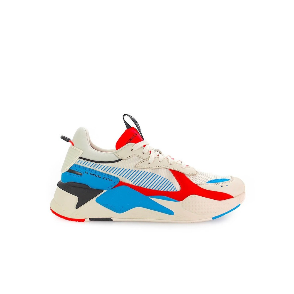 RS-X REINVENTION WHISPER WHITE RED SNEAKER