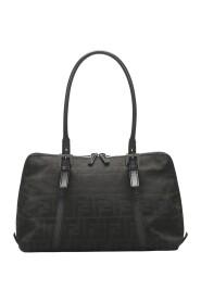 pre-owned Zucca Canvas Shoulder Bag