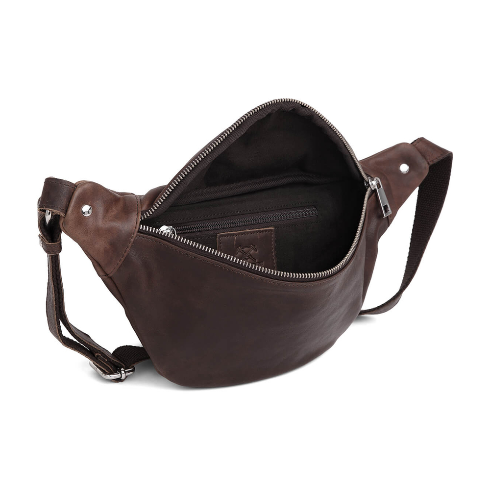 Adax Gabriel Dark Brown Catania Bumbag Adax