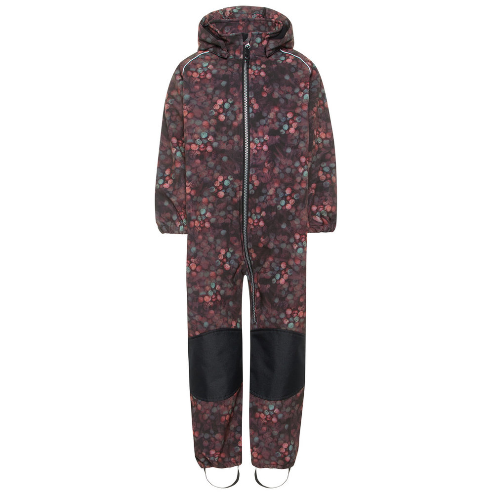 Softshell suit alfa berry print