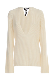 IREK KNITTED V NECK SWEATER