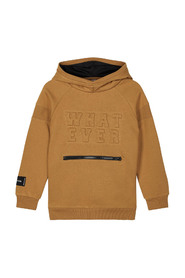 KIDS NKMROMAN LS SWEAT W. HOOD BRU