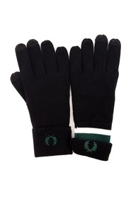 FRED PERRY C7152 Gloves Men BLACK