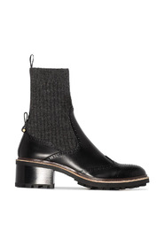 Franne Sock Ankle Boots