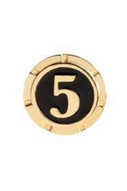 Lucky Number Coin Gold Jewelry