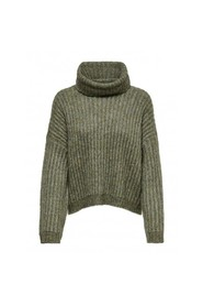 CHUNKY ROLLNECK PULLOVER