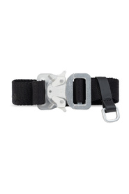 Belt with rollercoaster buckle