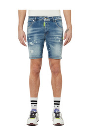 Denim Light Shorts