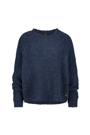 Pullover boucle kort