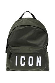 Backpack with an embroidered 'Icon' inscription