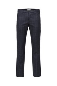 Trousers Slim fit checked