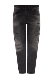 'D-Strukt' distressed jeans