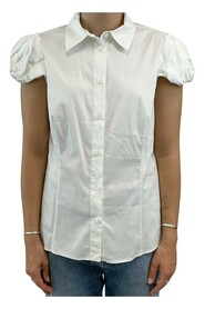 Short sleeved fitted shirt